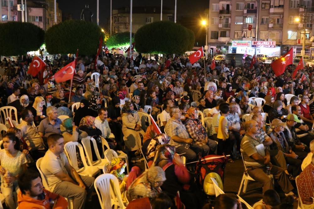 Akhisar'da demokrasi nöbetinin 21.günü galerisi resim 11