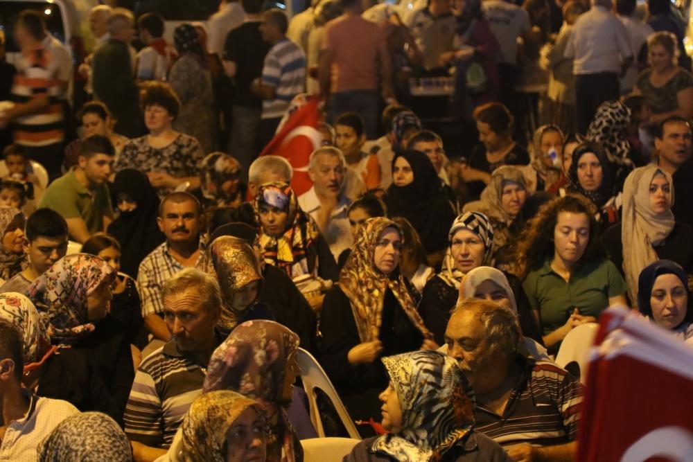 Akhisar'da demokrasi nöbetinin 21.günü galerisi resim 13