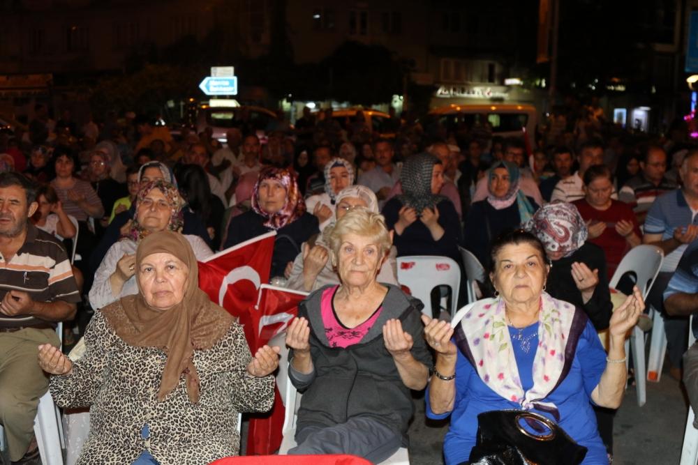 Akhisar'da demokrasi nöbetinin 21.günü galerisi resim 19