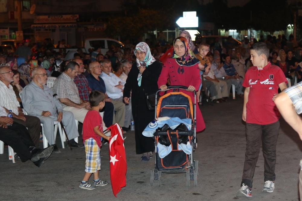 Akhisar'da demokrasi nöbetinin 21.günü 5