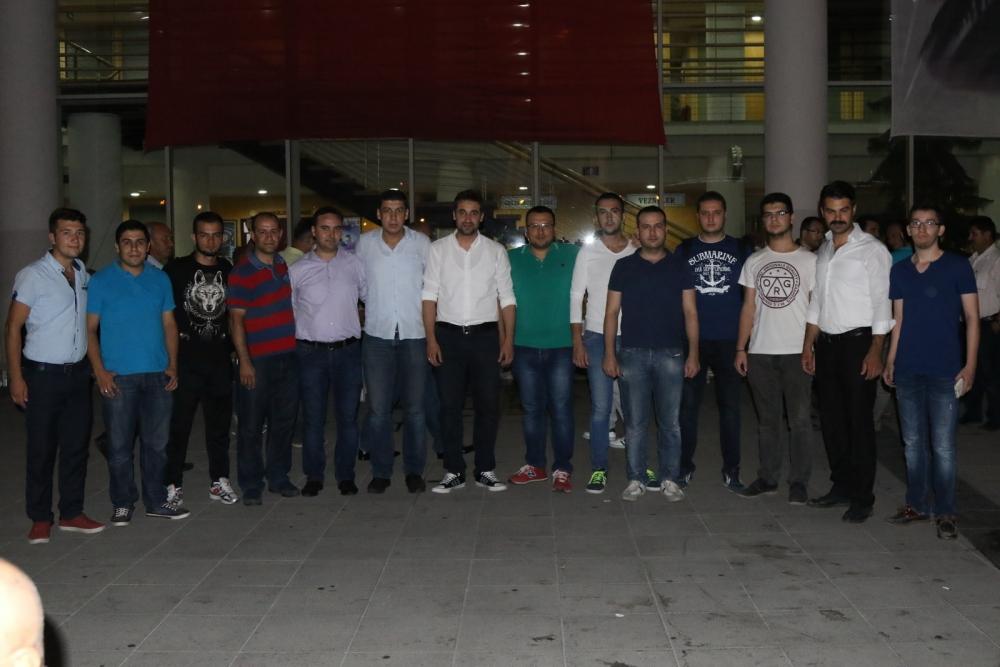 Akhisar'da demokrasi nöbetinin 21.günü 6