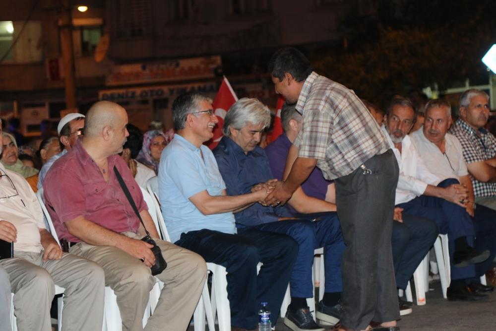 Akhisar'da demokrasi nöbetinin 21.günü 8