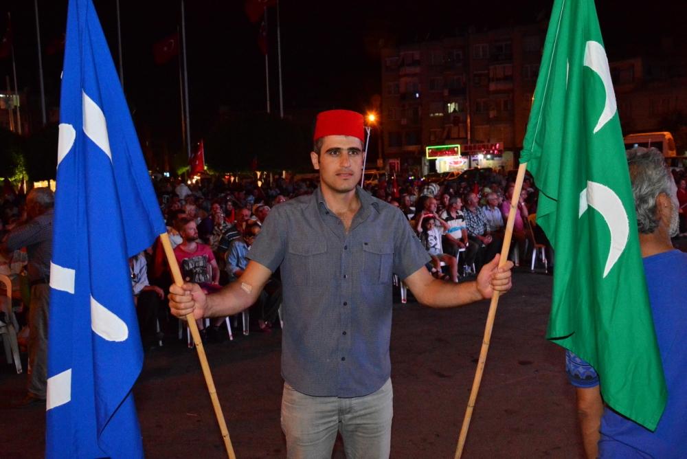 Akhisar'da Milli Egemenlik Meydanında demokrasi nöbeti 22.gün galerisi resim 11
