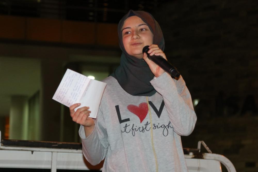 Akhisar'da Milli Egemenlik Meydanında demokrasi nöbeti 22.gün 13