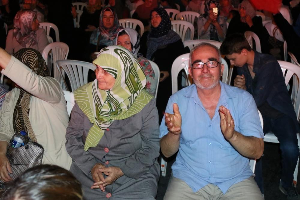 Akhisar'da Milli Egemenlik Meydanında demokrasi nöbeti 22.gün 49