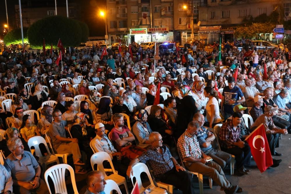 Akhisar'da Milli Egemenlik Meydanında demokrasi nöbeti 22.gün galerisi resim 72