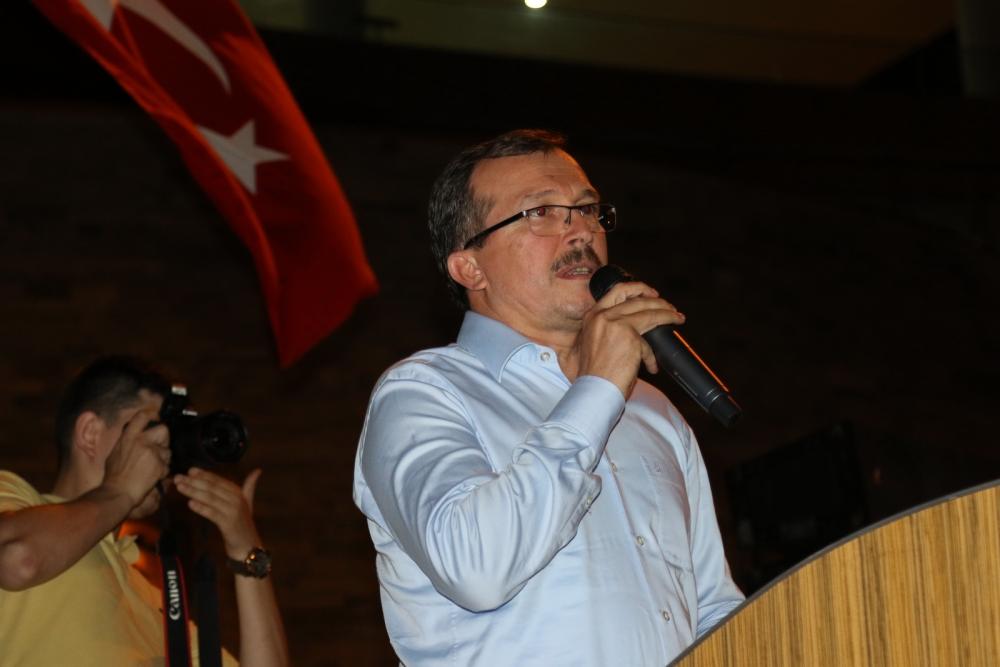 Akhisar'da Milli Egemenlik Meydanında demokrasi nöbeti 22.gün 76