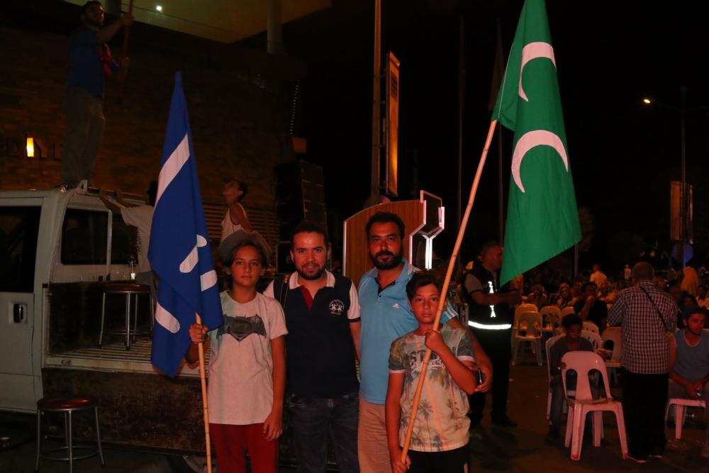 Akhisar'da Milli Egemenlik Meydanında demokrasi nöbeti 22.gün galerisi resim 78
