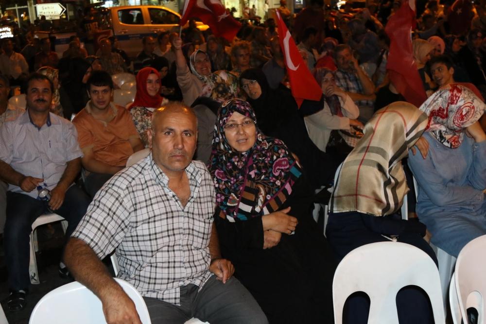Fotoğraflarla Akhisar'da demokrasi nöbetinin 25. günü galerisi resim 31