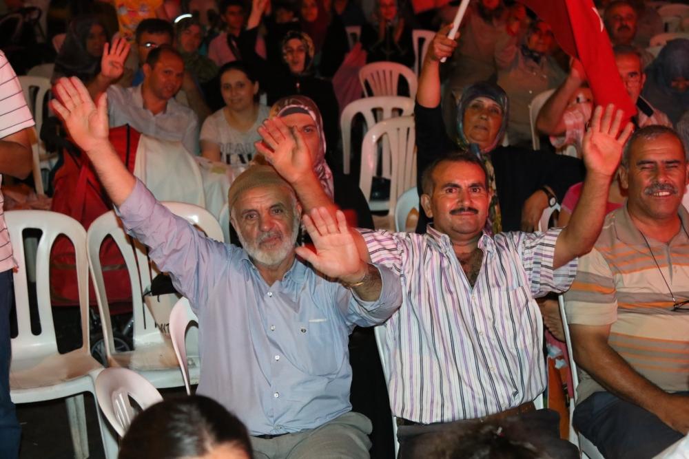 Fotoğraflarla Akhisar'da demokrasi nöbetinin 25. günü galerisi resim 45