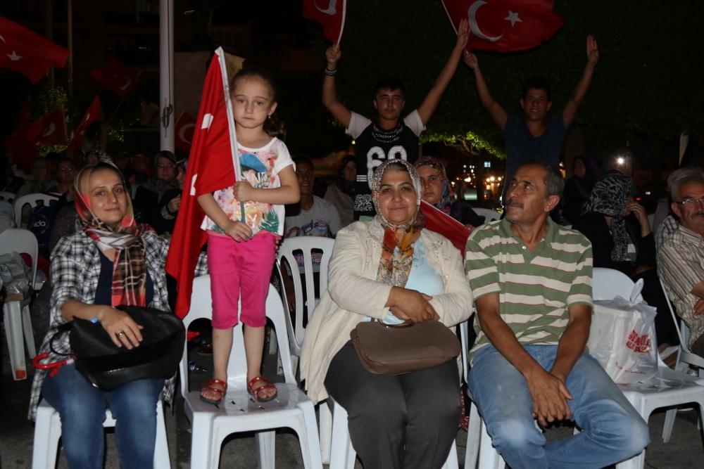 Fotoğraflarla Akhisar'daki demokrasi nöbetinin 26.günü galerisi resim 25