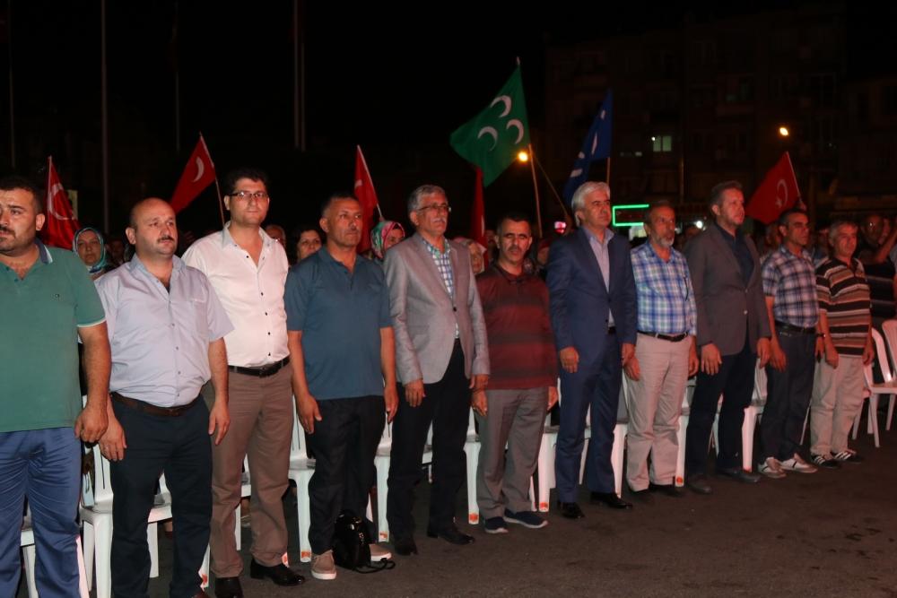 Fotoğraflarla Akhisar'daki demokrasi nöbetinin 26.günü galerisi resim 33
