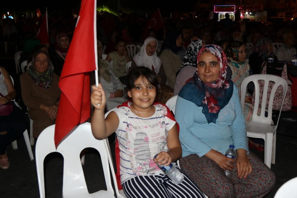 Fotoğraflarla Akhisar'daki demokrasi nöbetinin 26.günü galerisi resim 5