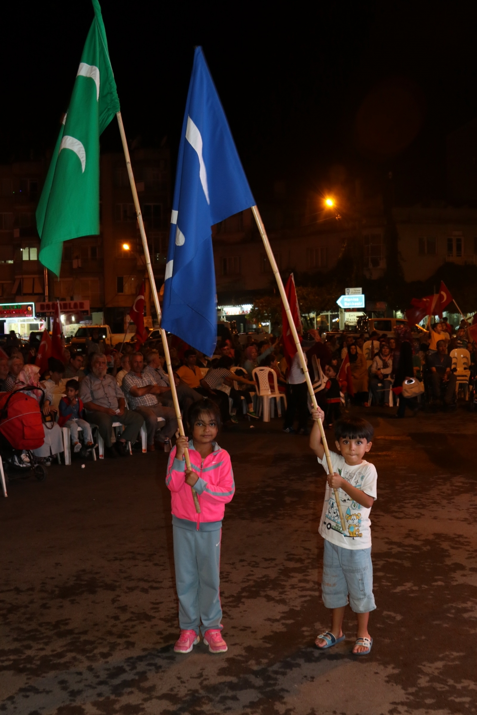 Fotoğraflarla Akhisar'daki demokrasi nöbetinin 26.günü galerisi resim 9