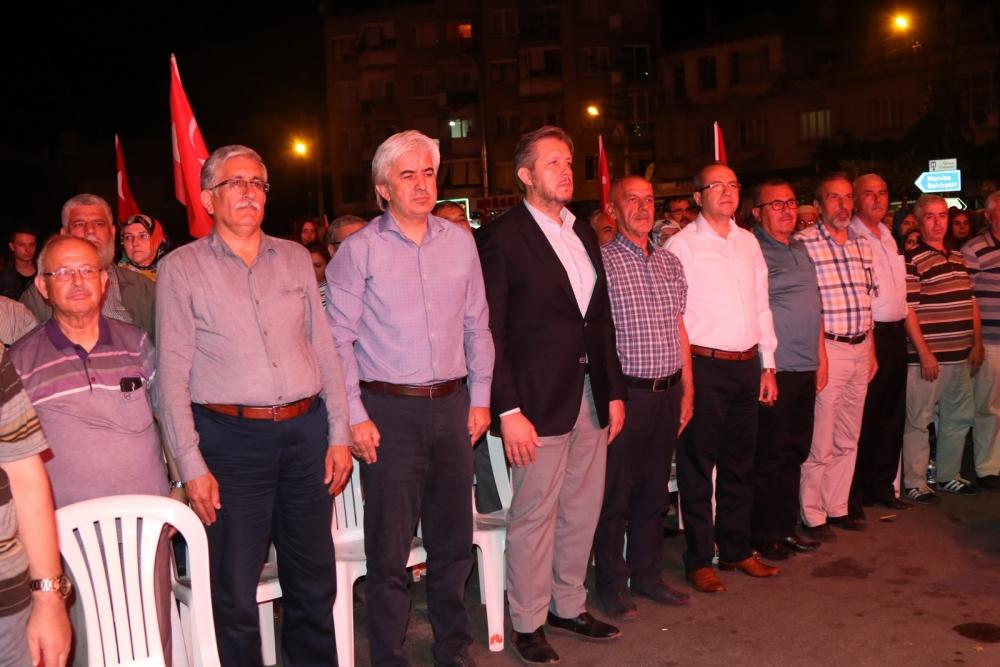 Fotoğraflarla Akhisar'daki demokrasi nöbetinin son günü galerisi resim 12