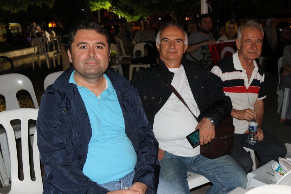 Fotoğraflarla Akhisar'daki demokrasi nöbetinin son günü 58