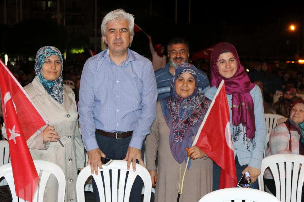 Fotoğraflarla Akhisar'daki demokrasi nöbetinin son günü 67