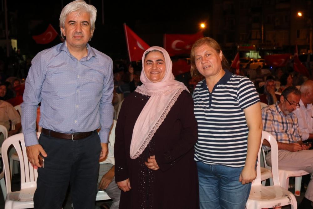 Fotoğraflarla Akhisar'daki demokrasi nöbetinin son günü galerisi resim 71