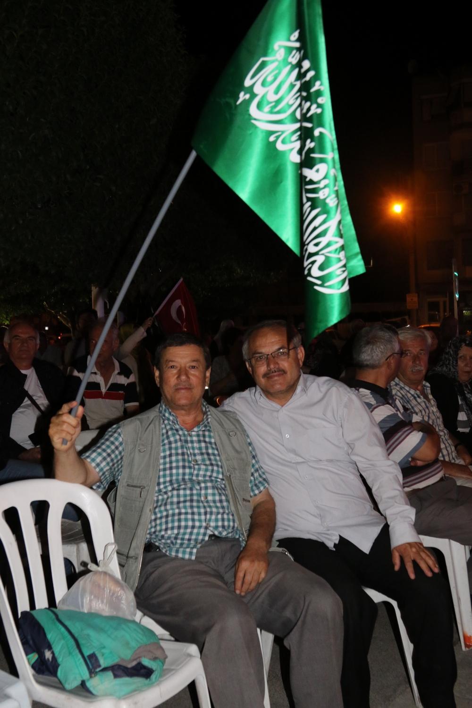 Fotoğraflarla Akhisar'daki demokrasi nöbetinin son günü galerisi resim 74