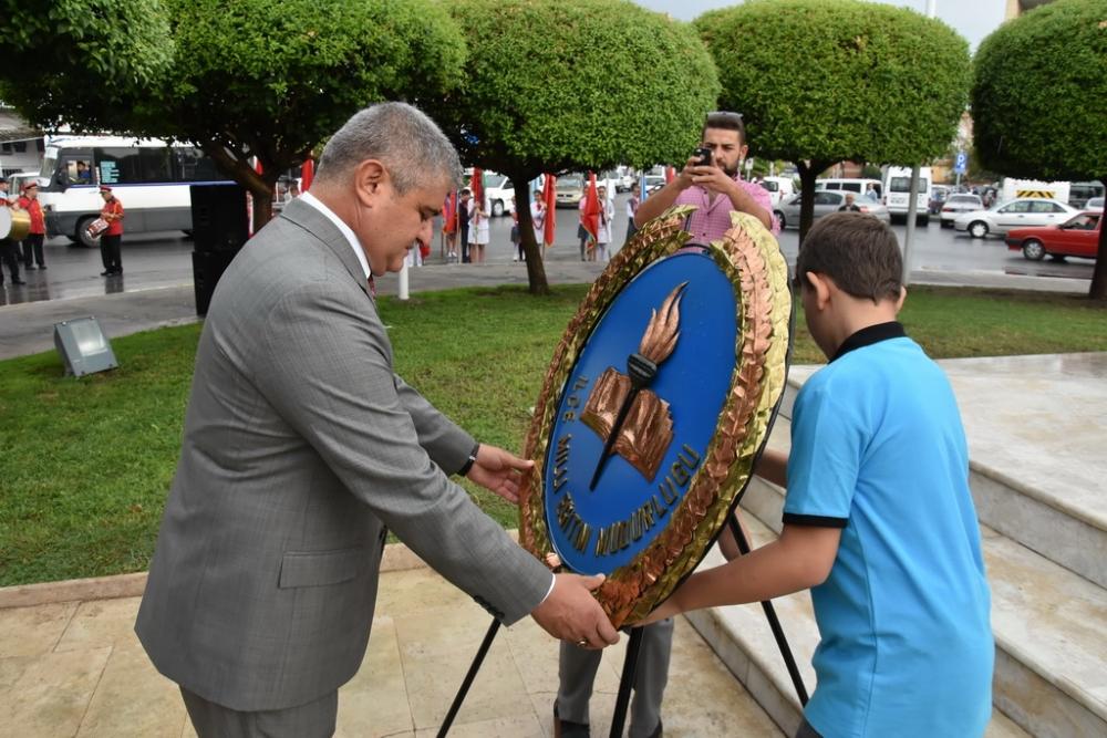 Fotoğraflarla Akhisar'da kutlanan ilköğretim haftası programı 17