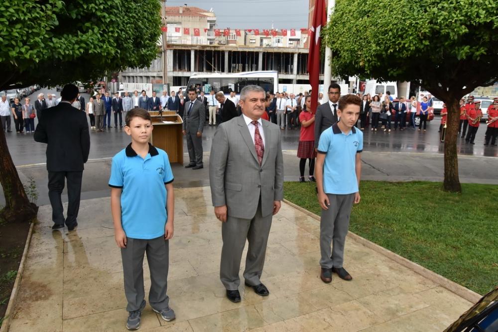 Fotoğraflarla Akhisar'da kutlanan ilköğretim haftası programı 19