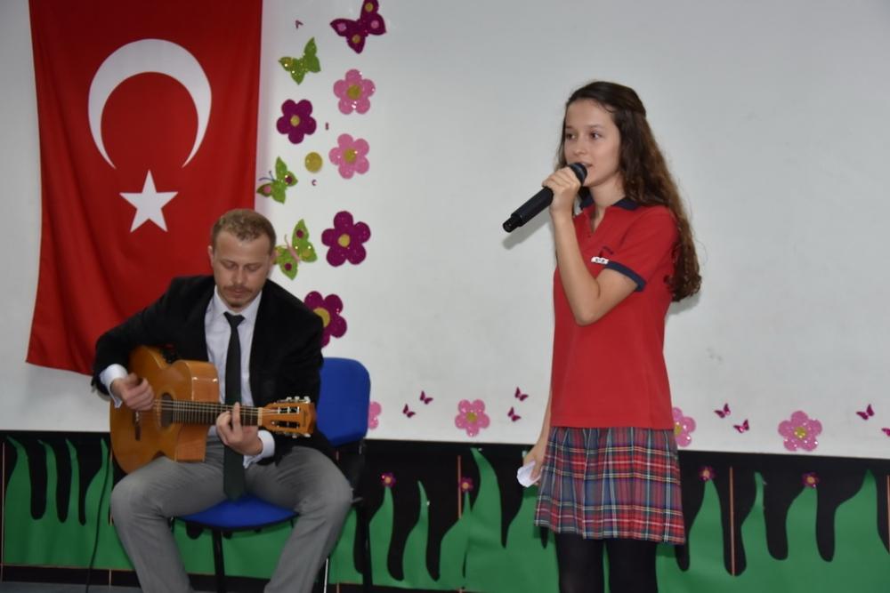 Fotoğraflarla Akhisar'da kutlanan ilköğretim haftası programı 38