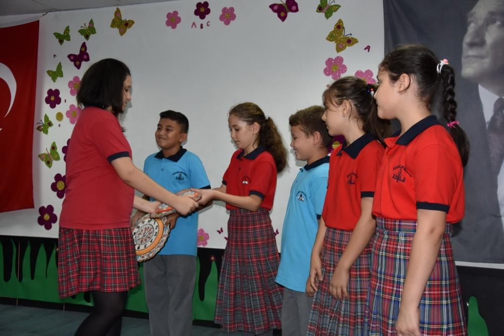 Fotoğraflarla Akhisar'da kutlanan ilköğretim haftası programı 41