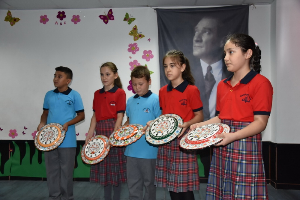 Fotoğraflarla Akhisar'da kutlanan ilköğretim haftası programı 42
