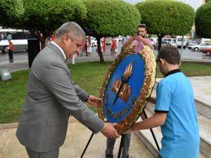 Fotoğraflarla Akhisar'da kutlanan ilköğretim haftası programı