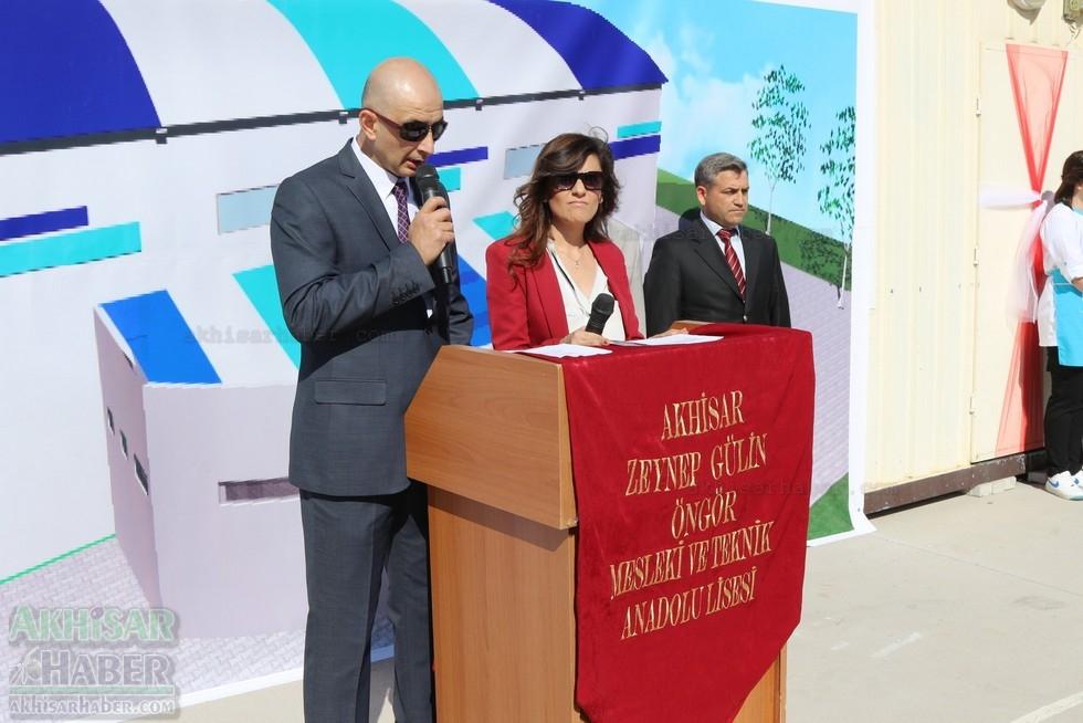Fotoğraflarla Z.G.Ö. Kız Meslek Anadolu Lisesi Akıllı Spor Salonu Temel 35