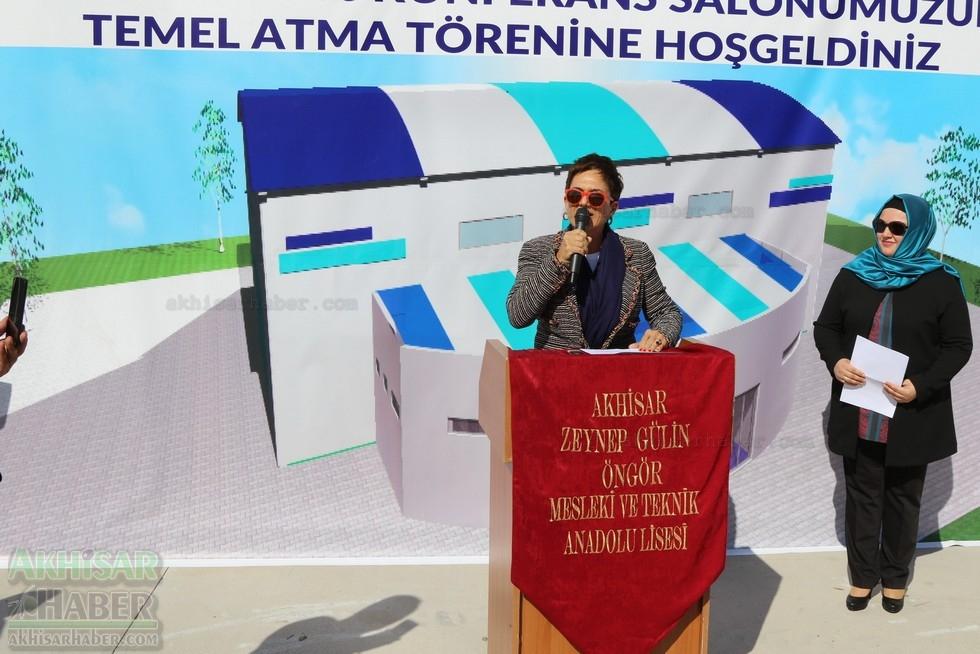 Fotoğraflarla Z.G.Ö. Kız Meslek Anadolu Lisesi Akıllı Spor Salonu Temel 62