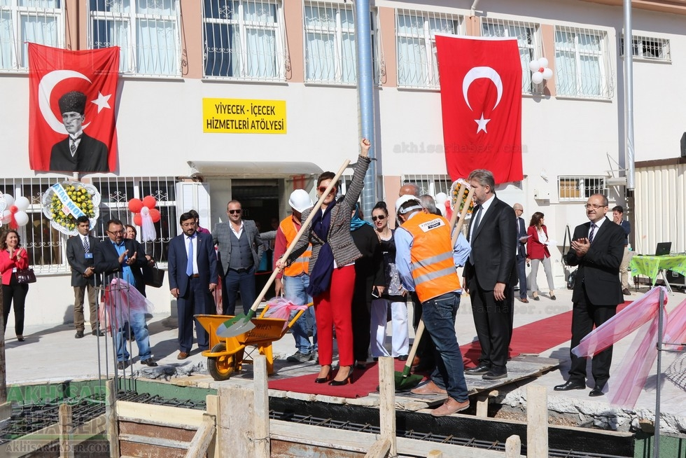 Fotoğraflarla Z.G.Ö. Kız Meslek Anadolu Lisesi Akıllı Spor Salonu Temel galerisi resim 73