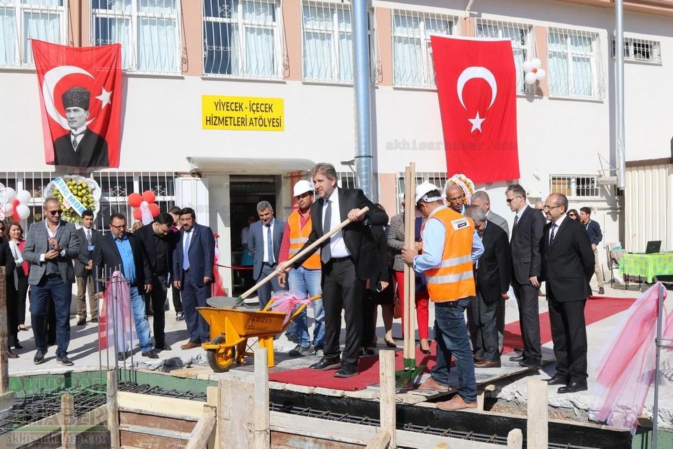 Fotoğraflarla Z.G.Ö. Kız Meslek Anadolu Lisesi Akıllı Spor Salonu Temel 78