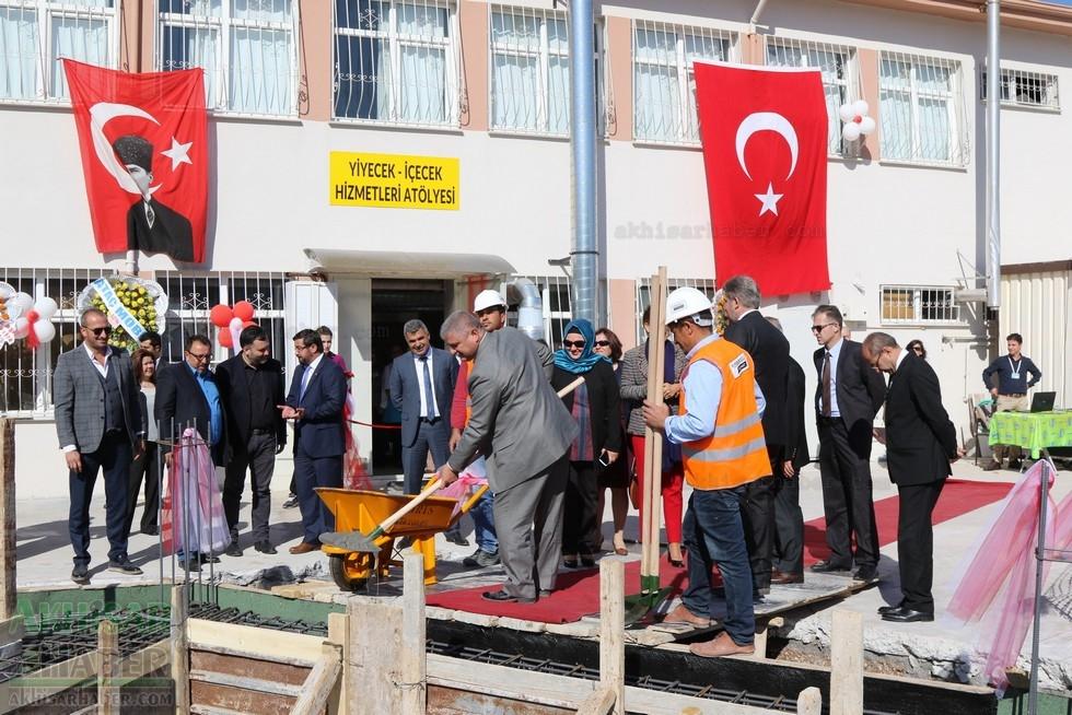 Fotoğraflarla Z.G.Ö. Kız Meslek Anadolu Lisesi Akıllı Spor Salonu Temel galerisi resim 80