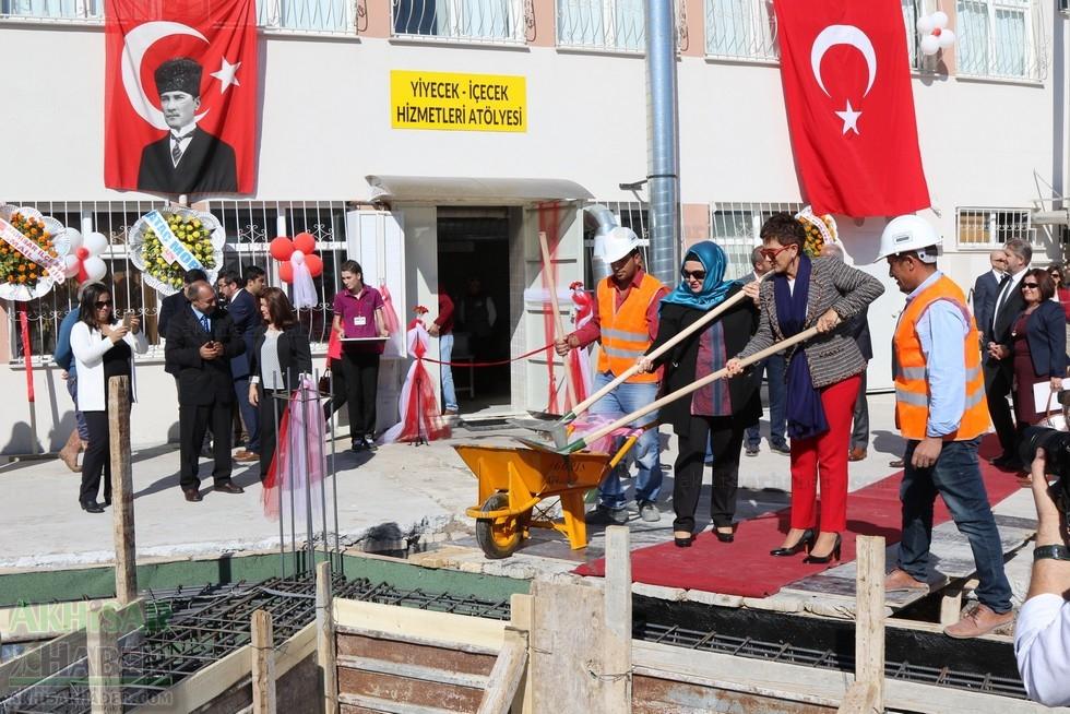 Fotoğraflarla Z.G.Ö. Kız Meslek Anadolu Lisesi Akıllı Spor Salonu Temel galerisi resim 88