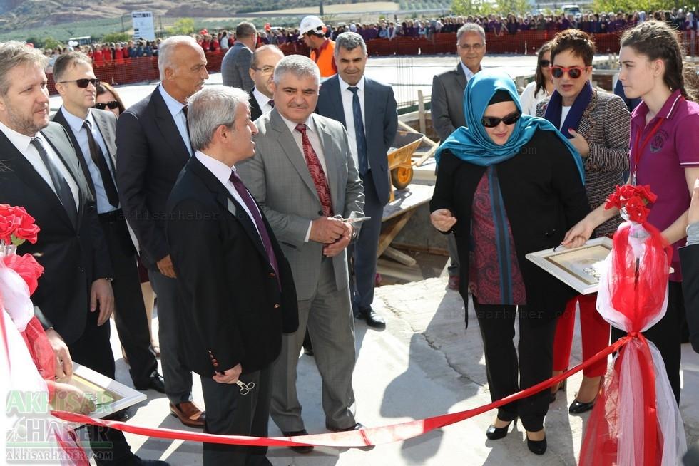 Fotoğraflarla Z.G.Ö. Kız Meslek Anadolu Lisesi Akıllı Spor Salonu Temel 93