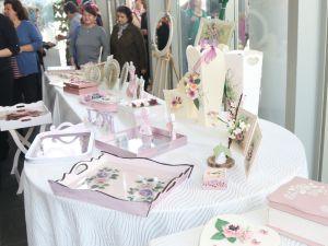 Akhisar Belediyesi Sanat Atölyesi Ahşap Sergisi Ürünleri