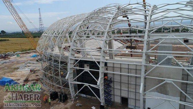 Spor Toto Akhisar Stadyumu hızla yükseliyor 1