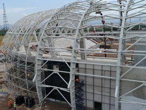 Spor Toto Akhisar Stadyumu hızla yükseliyor