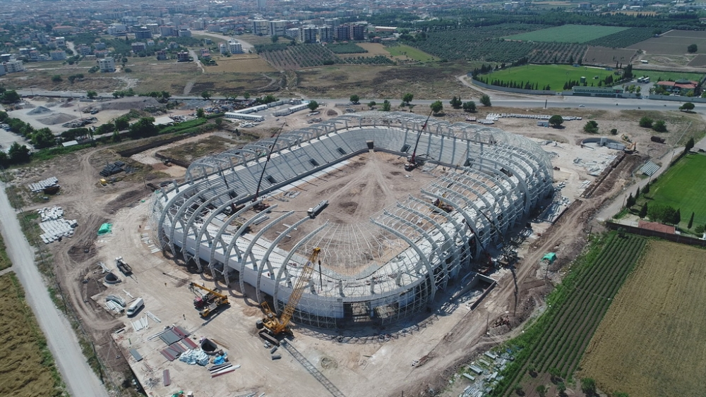 Spor Toto Akhisar Stadyumunda 13 Haziran 2017 tarihli son çalışmaları 1