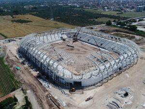 Spor Toto Akhisar Stadyumunda 13 Haziran 2017 tarihli son çalışmaları