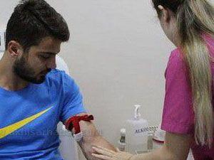 Akhisar Belediyespor, sağlık kontrolünden geçti