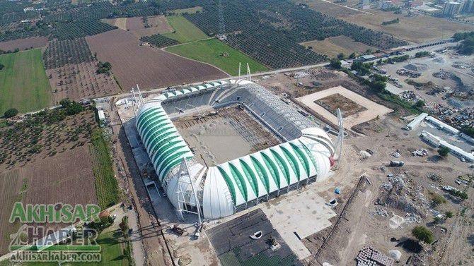 Stadyumunun çatı montajında sona gelindi 1