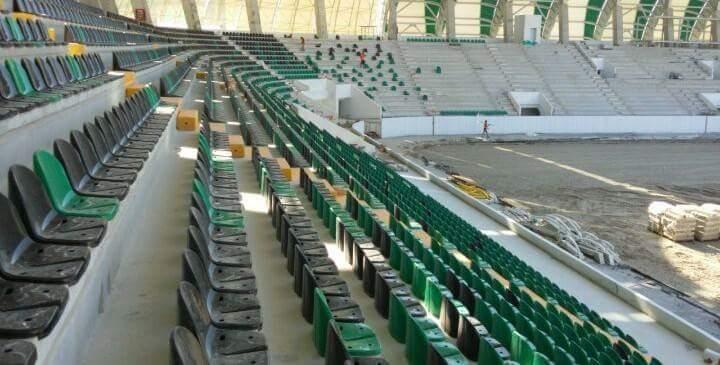 Spor Toto Akhisar Belediye Stadyumu İnşaatının 14 Ağustos 2017 fotoğrafl 1