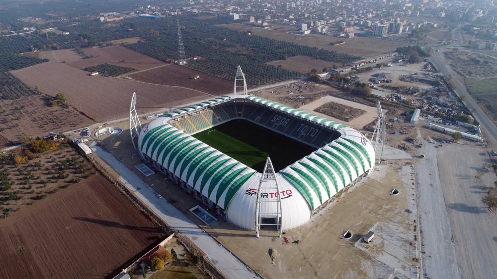 Spor Toto Akhisar Belediye Stadyumu 16 Kasım 2017 tarihli son görünümü 1