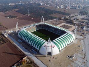 Spor Toto Akhisar Belediye Stadyumu 16 Kasım 2017 tarihli son görünümü