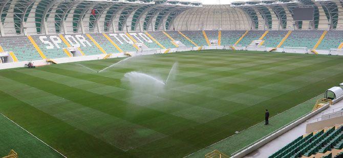 Spor Toto Akhisar Stadyumunda son rütuşlar