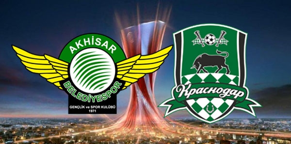 Akhisarspor - Krasnodar maçı hangi kanalda, saat kaçta? 1