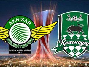 Akhisarspor - Krasnodar maçı hangi kanalda, saat kaçta?