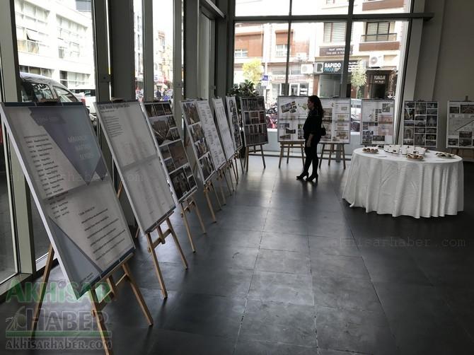 Akhisar 2018 Mimarlık haftası sergisi eserleri 1